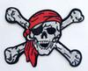 PUNK scarf Ghost Skull Pirate Embroidered IronOn Patch Badge Applique clothes jaccket accessory wholesales