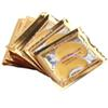 Anti-Wrinkle NEW Crystal Collagen Gold Powder Eye Mask Golden Mask stick to dark circles Hotsale eye patches