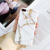 Factory Sales Thick TPU Housing Cover Shell Soft Case Phone Protection Marble Design IMD Cases for iPhone X 6 6S 7 8 Plus