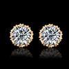 금 + 흰색 다이아몬드
