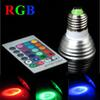 RGB 3W E27 GU10 MR16 LED Spot Light Led Bulb Lamp with Remote Controller CE RoHS Certificate Support