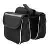 Bicycle Cycling Frame Pannier Saddle Front Tube Bag Both Side Double Pouch