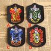 Harry Potter Embroidery School Badges Four College Cryffindor Cartoon Movie TV Costume Party Baseball Cap Patches Sewing 10*7.2cm WX-H05
