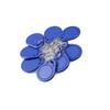 RFID Key ISO Fobs 125kHz Proximity ABS ID Tags NFC Tag Access Controller keys in blue