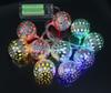15pcs per lot mix order 10LEDs metal ball battery strings Christmas tree decorative lights holiday wedding fairy lights for decoration
