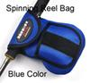 Spinning reel bag Blue Color