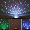 Hot laser stage light Auto Voice-activated Control LED Crystal Magic Ball Disco DJ Party Stage Light Lighting with remote controland USB