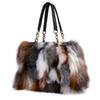 Fox Fur Handbags Fashion Women Winter Luxury Bag Genuine Leather Shoulder Bags Bolsa Feminine Messenger Bags