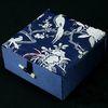 10x10x4.5 cm blu scuro