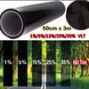 Wholesale- Car window tint film 50cm*300cm glass VTL 5% roll black for car side window house commercial solar protection summer car sticker