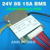 24V 8S 15A LiFePO4 BMS