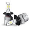 1 Pair S2 Auto Car Led Headlamp H4 H11 H7 H13 9004 9005 9006 LED Headlights 72W 6500K 8000LM