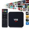 V88 Android 6.0 TV Box RK3229 Quad-Core CPU 1G+8G 4K Movies WIFI 3D Movie Smart Media Player Top Box