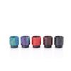 Hottest Epoxy Resin drip tip Colorful Resin Wide Bore drip tips for TFV8 Atomizer Tank Kooper Primus 300W Mod