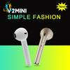 Cheap With High Quality HBQ V2 Mini Bluetooth Earphone Wireless In Ear Headphone With Mic Single Earbud Airpod Headset For Iphone 7 Samsung