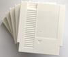 White color 72 Pins Game Cartridge Replacement Plastic Shell For NES Console