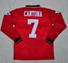 Retro jerseys 1994-95 Beckham   Cantona Giggs soccer jerseys football shirt