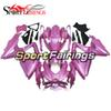 Injection Fairings For Suzuki GSXR600 GSXR750 K8 08 09 Year 2008 2009 K8 Sportbike ABS Plastic Motorcycle Fairing Kit Bodywork Cowling Pink
