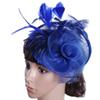 Exclusive Lady hat Cambric Ostrich hair High-end hats Party hats For Wedding Halloween party with Free shipping