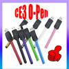 CE3 O Pen Vape Batteries E Cigarette Cartridge Atomizer 280mAh 510 Thread Touch Battery For Glass Vaporizer