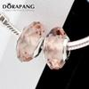DORAPANG Style Jewelry Lampwork Loose Beads 925 Sterling Silver European Glass Beads Charms Fits For Bracelets Bangle DIY Jewellery Makings