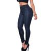 New Blue Sexy Skinny Womens Jeans Femme 2017 Spring Autumn Slim High Waist Jeans Plus Size Denim Pencil Pants Push Up Jeans