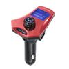 Bluetooth Hands Free Car Kit Car MP3 Player FM Transmitter Dual USB Car-Charger Large Screen Display TF Card U Disk