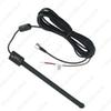 FEELDO Waterproof Flexible Car Active F Connector Digital DVB-T Car TV Antenna With Amplifier #883