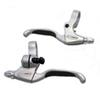 Tektro CL530 Aluminum Material Brake Lever 206G Pair Road Bike For Use With Linear Pull Brakes And Rapidfire Shifters
