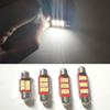 Reading Light 31 36 39 41mm Car Styling 2pcs Error Free Led 12V 4014 12 SMD Festoon Interior Light Car Lamp Bulb License Plate Light CANBUS