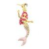 Rosa Mermaid Lapel Pin