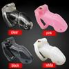 Factory Price Lock Male Chastity Belt Cock Cage Chastity Devices Sex Toys with 4 Penis Rings For Men SM Fetish Sex Product