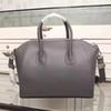 Top quality famous purse Motorcycle handbags grauned leather antigona casual tote with silver hardware 28cm medium size 32cm big,23cm mini
