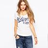 Street Fashion Summer Letter Print Women T-Shirt Basic Style Short Sleeve Slim T Shirt Casual Women Clothing
