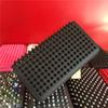 Men Women Color Rivets Purse Studded Wallets Zipper Clutch Free Shipping Candy Color Punk Purse