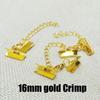 16mm Crimpgold