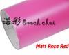 Matte Rose Red