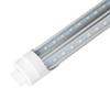 LED T8 LED Tube 4ft 5ft V-Shape Double sides Ligh rotating G13 For cooler door LED fluorescent light AC85-265V UL