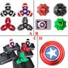 Tri Fidget Spinner Hand Spinner Finger EDC Toy For Decompression Anxiety Stainless Steel Metal Triangle Toys in stock DHL free
