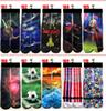 FEDEX 3d socks kids women men hip hop sock 3d odd cotton skateboard socks 100pcs=50pairs