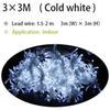 3X3M Cold White