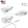NEW Fast Charging Charger Adapter For Samsung Galaxy S6 S7 Note 4 5 Cable 5Ft HQ DHL free