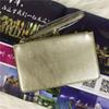 32 colors brand designer wallets wristlet women coin purses clutch bags pu with zipper