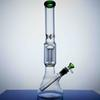 14.6inch!!! big Bong Glass Water Pipes Bongs Beaker Bong with tree percolator downstem male Joint bowl Water Pipes Oil Rigs