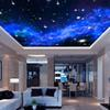 Wholesale-Interior Ceiling 3D Milky Way Stars Wall Covering Custom Photo Mural Wallpaper Living Room Bedroom Sofa Background Wall Covering