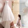 New Arrival 2017 Best Sale Sweetheart Ball Gown Ivory Court Train Elegant Wedding Dress Tulle Lace Appliques Bridal Gowns vestido de noiva