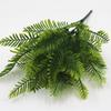 HOT Artificial Flower Leaves Plants Pretty Fake Lifelike Plastic Persian Grass Lysimachia Fern floral decoration free shipping DHL