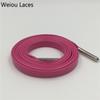 1274 Pink + Silver Spitzen 100 cm
