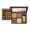 New Brand COCOA Contour Kit Highlighters Palette Nude Color Cosmetics Face Concealer Makeup with Contour Buki Brush In Stock!!DHL shipping
