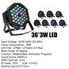 36 * 3W LED-